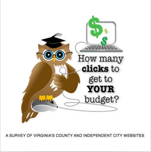 A recent study by the Virginia Coalition for Open Government reported that the City of Fairfax and Fairfax County provide easy online access to their respective budgets. (Photo courtesy of the Virginia Coalition for Open Government.)