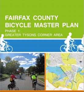 Phase 1 of the Fairfax Bicycle Master Plan is expected to come before the planning commission early in 2013.